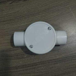 White PVC Junction Boxes for Pipe Fittings, Size: 19 mm- 50 mm