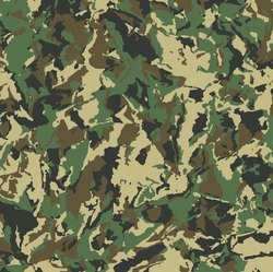 Anti Virus Viral Block Camouflage Fabric