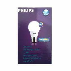 Philips 2.7W B22 White Cool Day LED Bulb