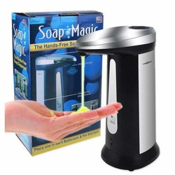 Plastic Automatic Sensor Soap Magic Hand Sanitizer Dispenser,
