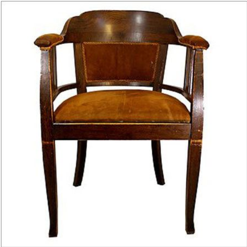Brown Antique Wooden Chair Home Decore Furnishing Id 19458363162