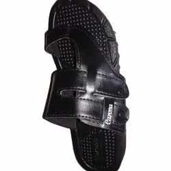 Soldier Rubber or clotg Black Gents Slippers, Size: 6+10