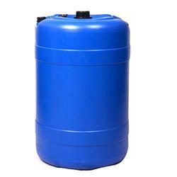 Blue Mitsu Chem 100 L Plastic Barrels