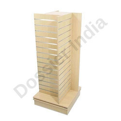 Wooden Slatwall Display