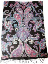 Silk Viscose Print Scarves