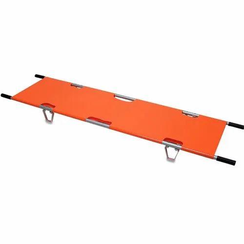Folding Emergency Stretcher, Size: 104 x 17 x 9 cm, Rs 4000 /unit   ID: 21525465212