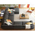 Gray Living Room Sofa