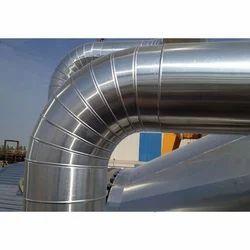 Duct Aluminium Cladding