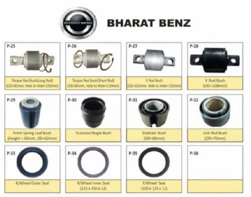 Manufacturer of Bharatbenz Spare Parts & Amw Spare Parts by Pyken