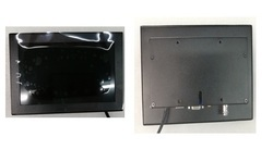 C701B-CB Metal casing monitor (Touch Screen Optional)