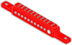 Theft Proof Insulated Aluminum Busbar Support