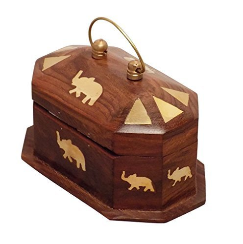 Brass Inlaid Wooden Boxes Meenakshi Handicrafts Emporium