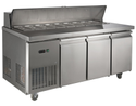 Prego 3 Door Salad Counter Chiller