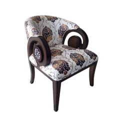 Wooden Printed Hotel Chair