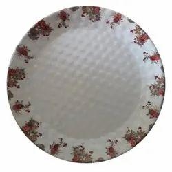 Printed Ceramic Dinner Plate