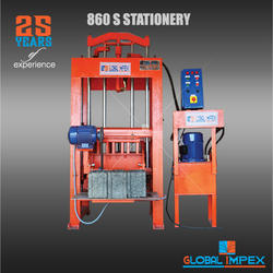 860 S Hydraulic Block Making Machine