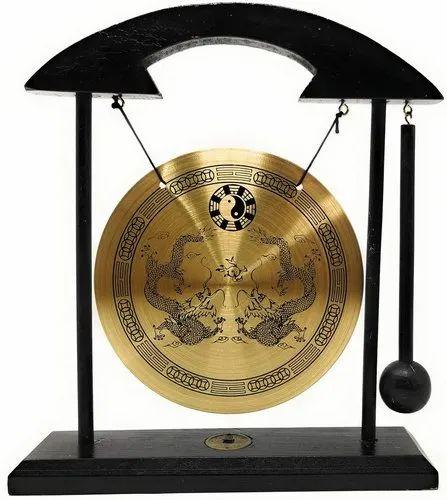 Brass Feng Shui Desktop Gong