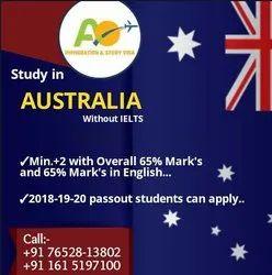 Subclass 500 AUSTRALIA STUDY VISA (WITHOUT IELTS)