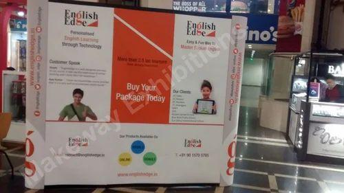 Portable Exhibition Kit Store Maharashtra : Grey black portable exhibition kit size id