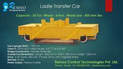Self Propelled Ladle Transfer Car