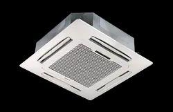 White Plastic,Metal (Body) Cassette AC Indoor Unit