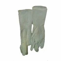 White Surgical Hand Gloves