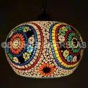 Deshilp Overseas Glass 1 Antique Hanging Light