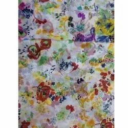 For Dress Ladies Cotton Floral Printed Fabric
