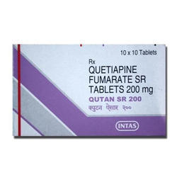 Quetiapine Fumarate Sr Tablets