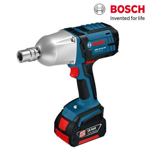 Bosch GDS 18 V-LI HT Professional Cordless Impact Wrench, Warranty: 1 Year