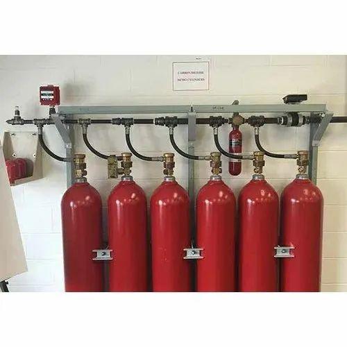 Novac 1230 Fire Suppression System, Capacity: 25-100 kg