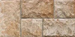Johnson Porselano Elevation Blockstone Brown Wall Tiles, Size: 60x30 cm
