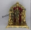 Golden Plated Ram Darbar
