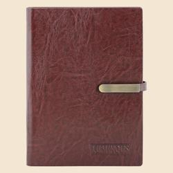 Brown Leather Notebook Diary