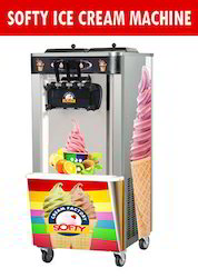 Double Flavour Softy Ice Cream Machine