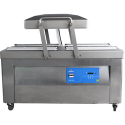 Double Chambers Automatic Vacuum Packaging Machine