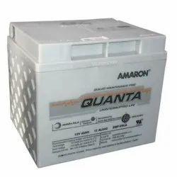 Lead Acid Battery Amaron Quanta Smf Battery, Model Name/Number: 12al042, 12v