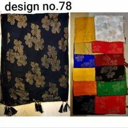 Nazamin Foil Flower Design Dupatta