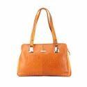 Orange Satchel Leather Bags