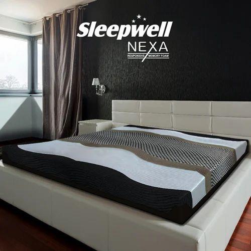 reputable site be052 e0cde Sleepwell Nexa Memory Foam Mattress