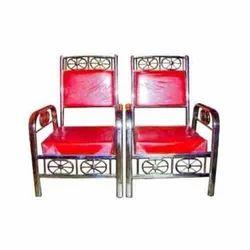 Modern Stainless Steel  Banquet Chair