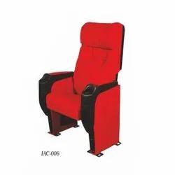 IAC-006 Push Back Red Auditorium Chairs