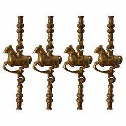 Brass Horse Chain
