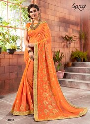 Designer Fancy Ethnic Sarees