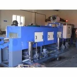 Three Stage Conveyorised Cleaning Machine