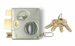 Silver Brass Godrej Door Locks, Model Name/Number: Night Latch, Safety Lock