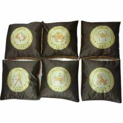 TWISHA Soft Zodiac Printed Pillow, Shape: Square