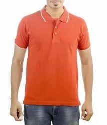 Mens Cotton Half Sleeve Polo T Shirts