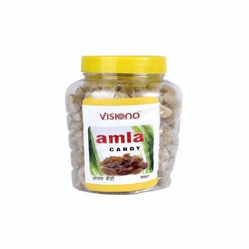 Visiono Orange Amla Candy, Packaging: Plastic Jar