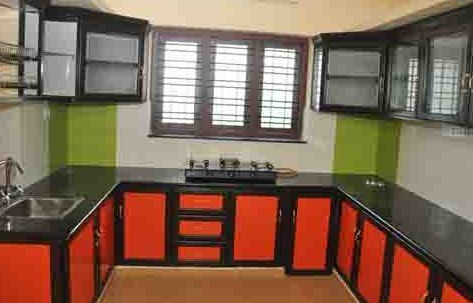 Modular Kitchen Cabinet Aluminium Fabrication Service Provider
